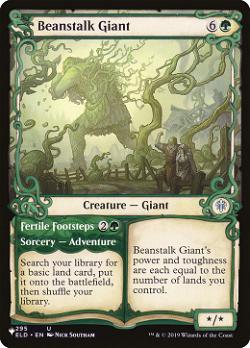 Beanstalk Giant // Fertile Footsteps image