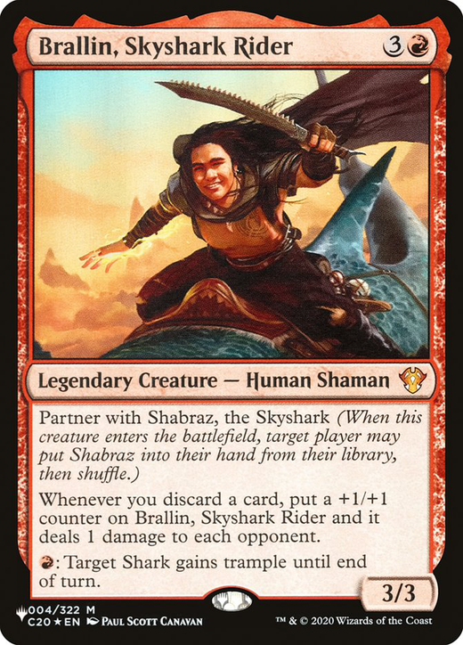 Brallin, Skyshark Rider