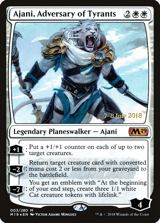 Ajani, Adversary of Tyrants image