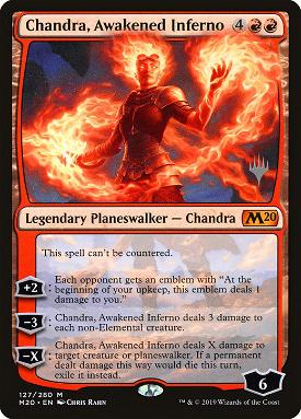 Chandra, Awakened Inferno image