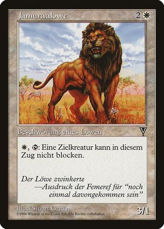 Jamuraan Lion image