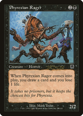 Phyrexian Rager image
