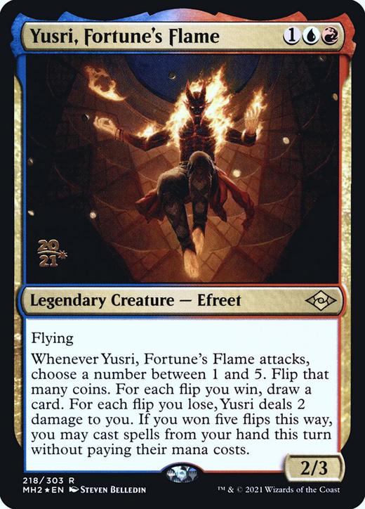 Yusri, Fortune's Flame image
