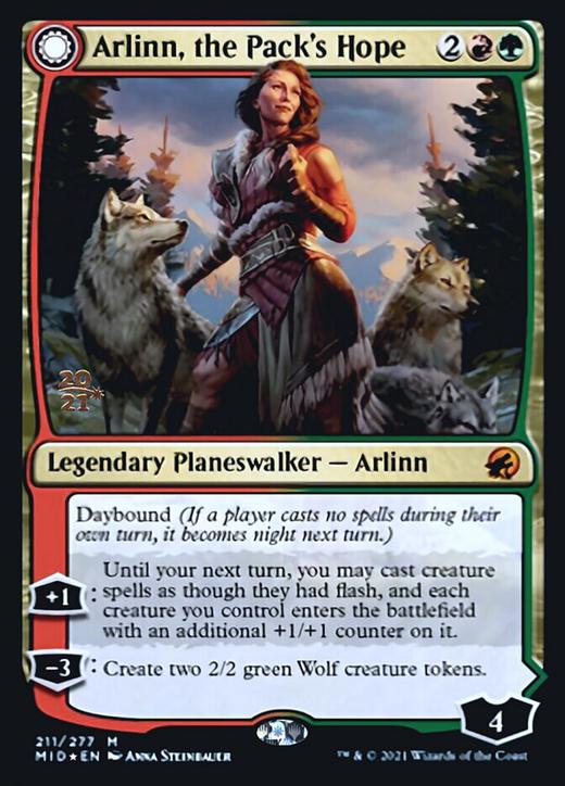 Arlinn, the Pack's Hope // Arlinn, the Moon's Fury?&width=200