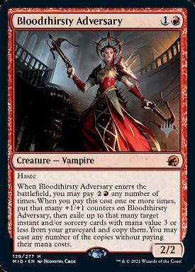 Bloodthirsty Adversary image
