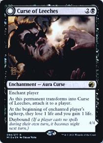 Curse of Leeches // Leeching Lurker image