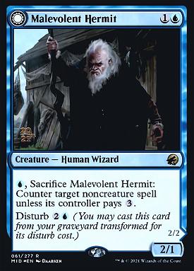 Malevolent Hermit // Benevolent Geist image