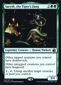 Saryth, the Viper's Fang image