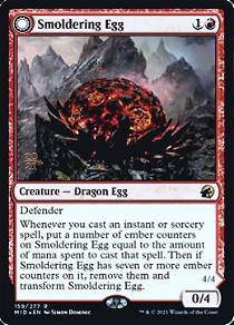 Smoldering Egg // Ashmouth Dragon image