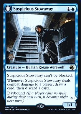 Suspicious Stowaway // Seafaring Werewolf image