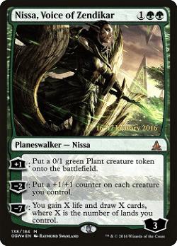 Nissa, Voice of Zendikar image