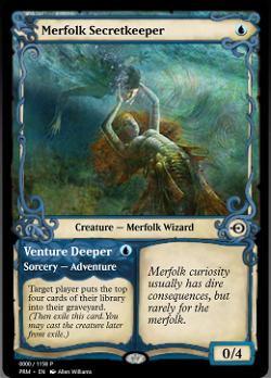 Merfolk Secretkeeper // Venture Deeper image