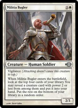 Militia Bugler image