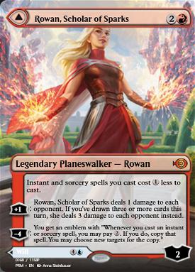Rowan, Scholar of Sparks // Will, Scholar of Frost image