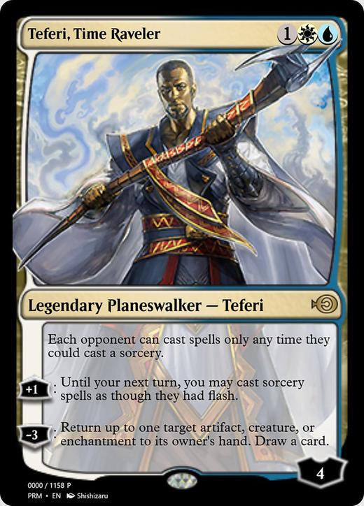 Teferi, Time Raveler image