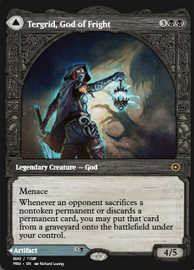 Tergrid, God of Fright // Tergrid's Lantern image