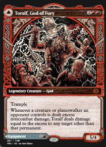 Toralf, God of Fury // Toralf's Hammer