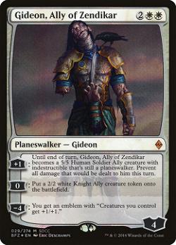 Gideon, Ally of Zendikar image