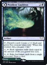 Pestilent Cauldron // Restorative Burst image