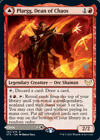 Plargg, Dean of Chaos // Augusta, Dean of Order image