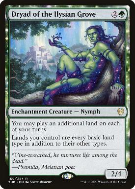 Dryad of the Ilysian Grove image