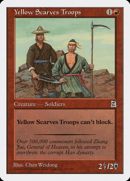 Yellow Scarves Troops image