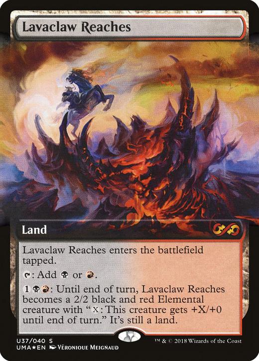 Lavaclaw Reaches