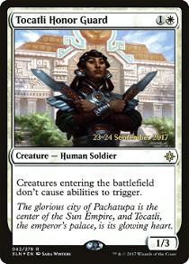 Tocatli Honor Guard