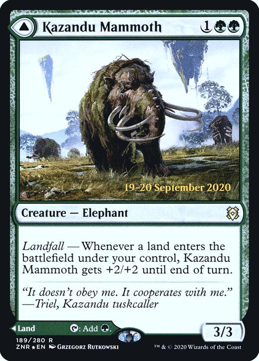 Kazandu Mammoth // Kazandu Valley image