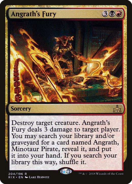 Angrath's Fury image