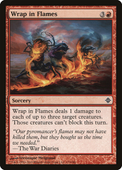 Wrap in Flames image