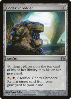 Codex Shredder image