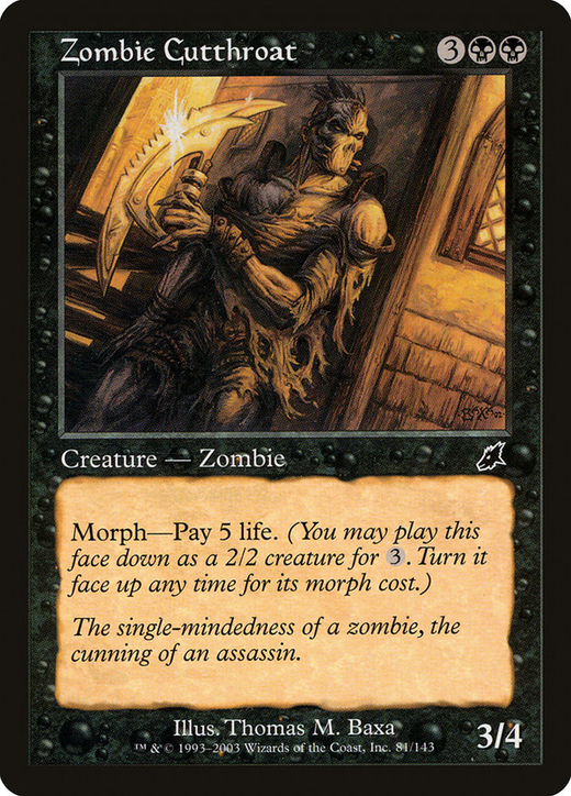 Zombie Cutthroat image