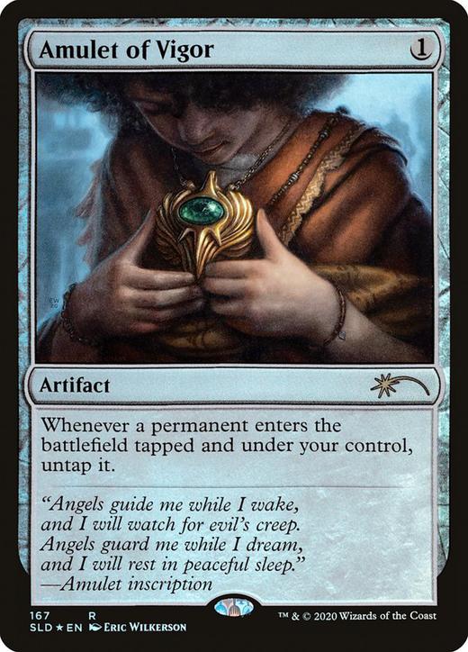 Amulet of Vigor image