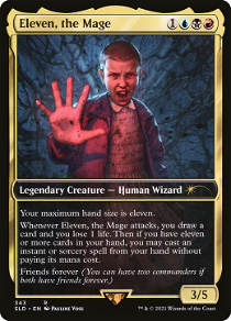 Eleven, the Mage image