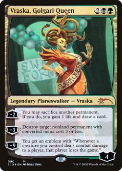 Vraska, Golgari Queen image
