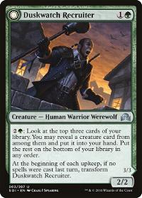 Duskwatch Recruiter // Krallenhorde Howler image