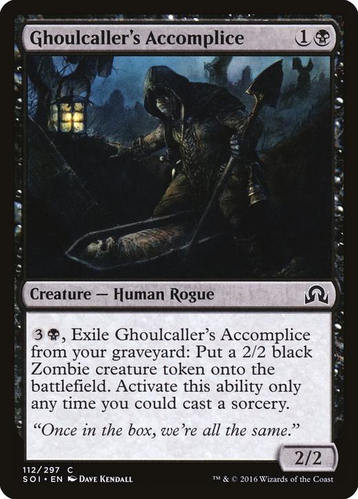Ghoulcaller's Accomplice image