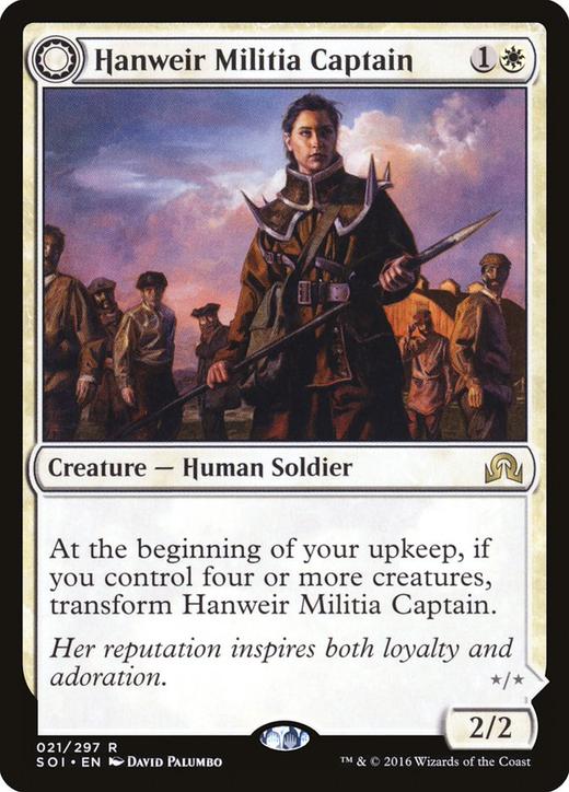 Hanweir Militia Captain // Westvale Cult Leader image
