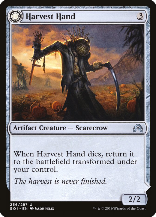 Harvest Hand // Scrounged Scythe image