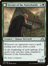 Hermit of the Natterknolls // Lone Wolf of the Natterknolls image