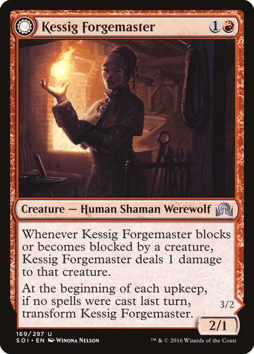 Kessig Forgemaster // Flameheart Werewolf image