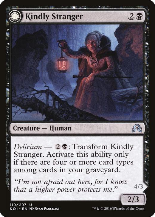 Kindly Stranger // Demon-Possessed Witch image