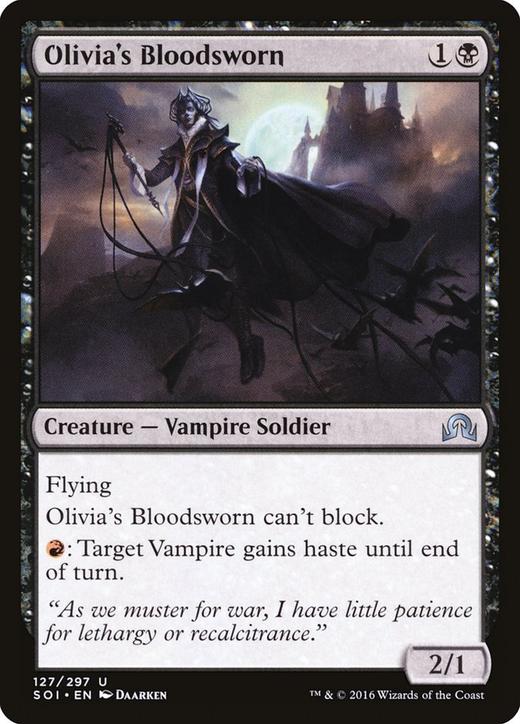 Olivia's Bloodsworn image