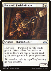 Paranoid Parish-Blade image