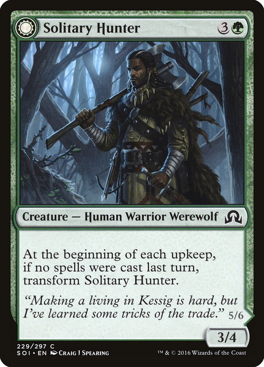Solitary Hunter // One of the Pack image