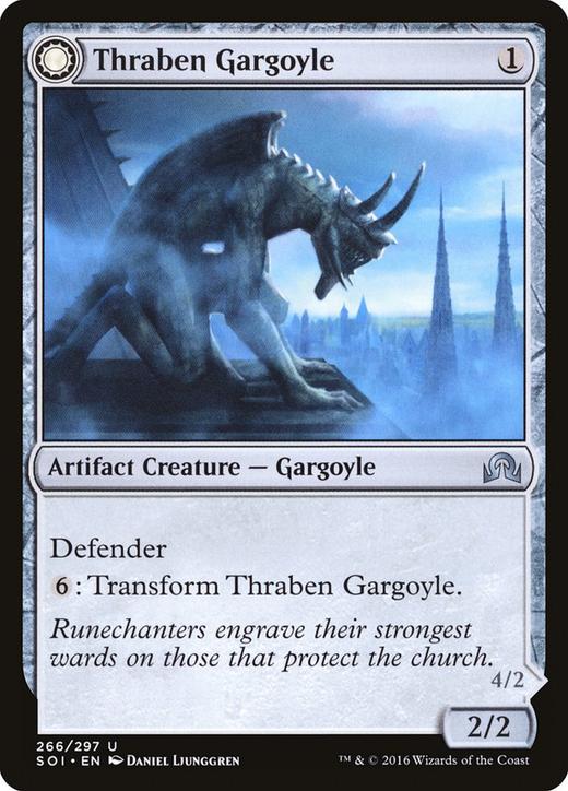 Thraben Gargoyle // Stonewing Antagonizer image