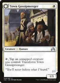 Town Gossipmonger // Incited Rabble image