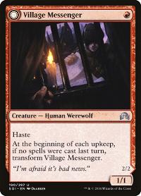 Village Messenger // Moonrise Intruder image