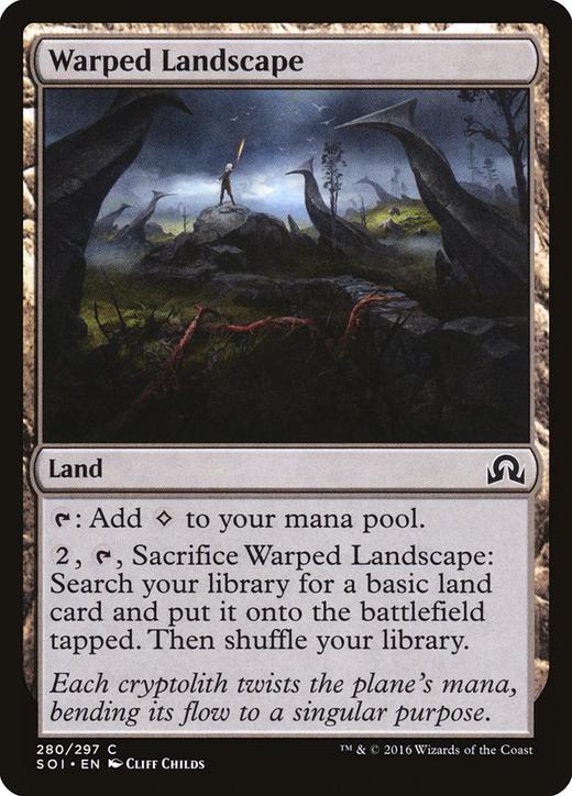 Warped Landscape image